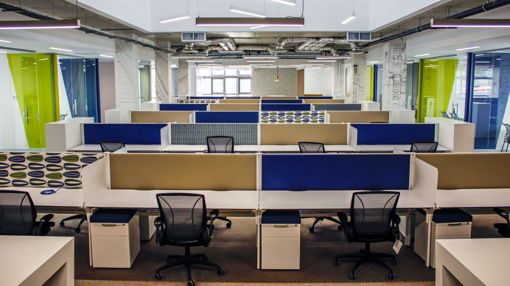 When designing a new office space start here fsg africa for Outer space office design
